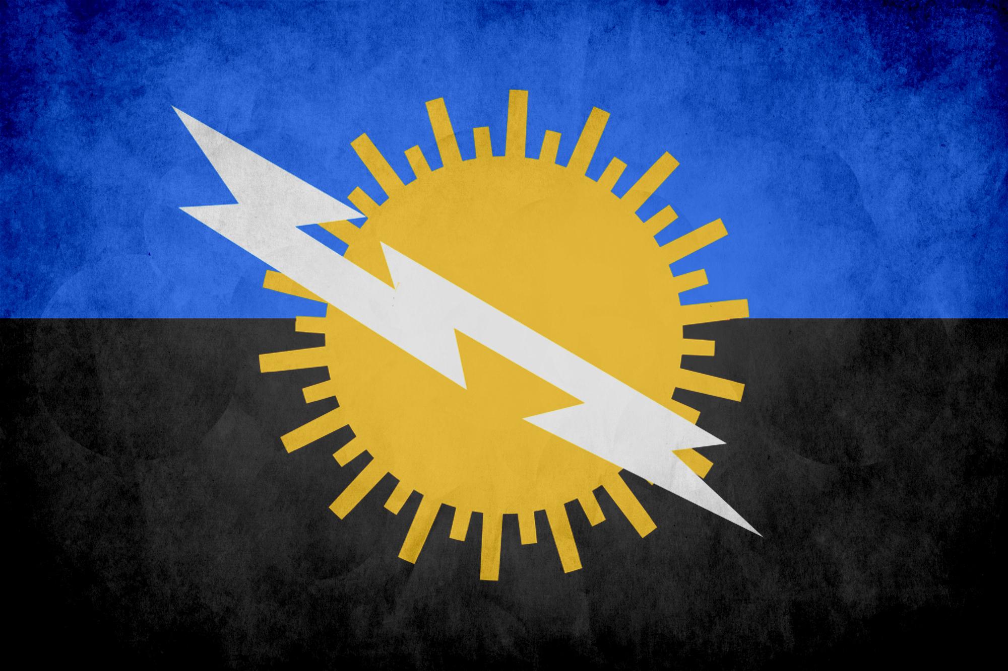 bandera del zulia grunge « República Independiente del Zulia